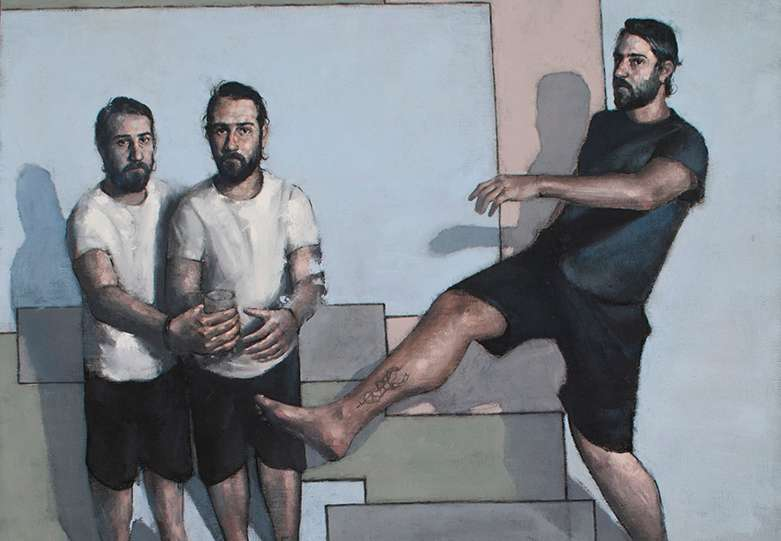 «Unravelling the figure».Έκθεση ζωγραφικής των Αχιλλέα Πιστώνη και Δημήτρη Αγγελόπουλου