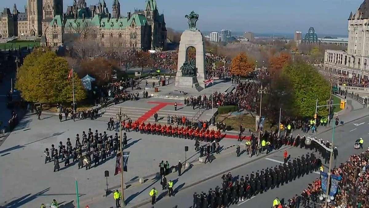 Remembrance Day 11/11/11. Η ημέρα και η ώρα που ο Καναδάς τιμά τους πεσόντες υπέρ της πατρίδας