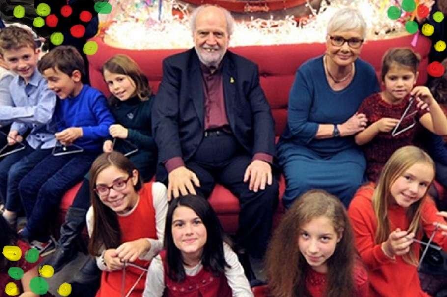 Καλά Χριστούγεννα στο Μέγαρο Μουσικής με τον Γιάννη Μαρκόπουλο και την Ξένια Καλογεροπούλου
