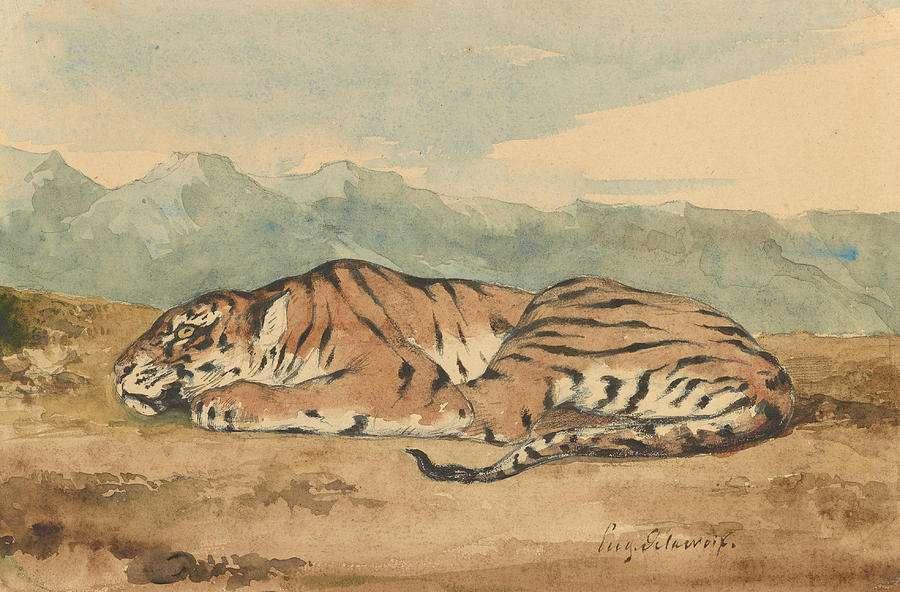 Η τίγρη – Κατερίνα Αγγελάκη-Ρουκ