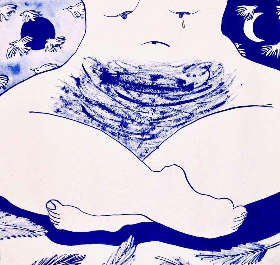 H «Ελληνίδα Μάνα» στην πρώτη ατομική έκθεση της Αριάδνης Στροφύλλα