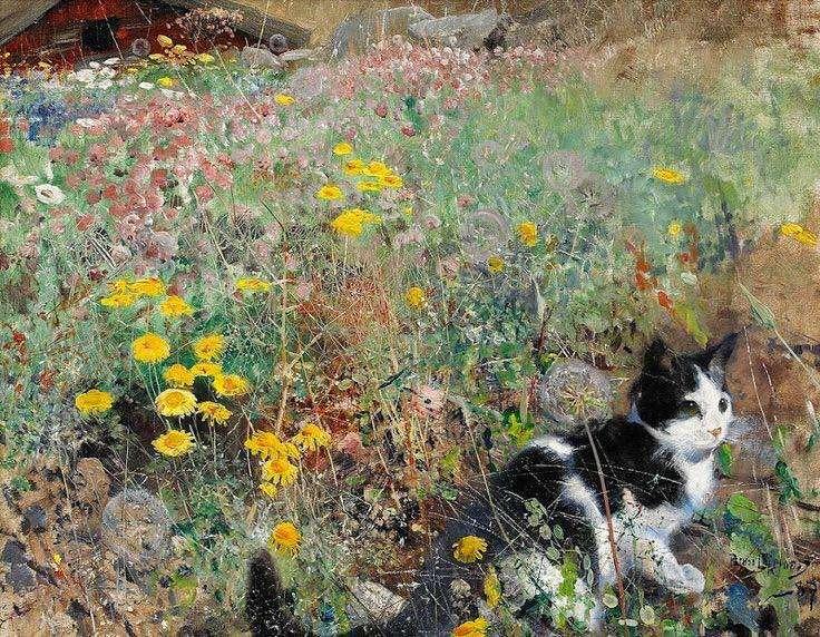 Οι γάτες του Bruno Liljefors