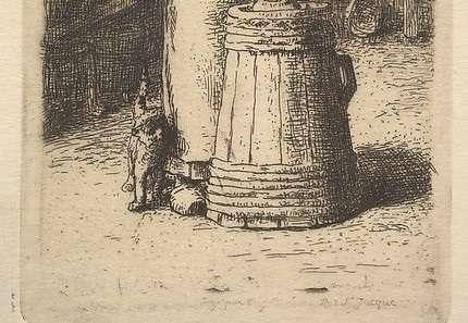 Οι γάτες του Jean Francois Millet