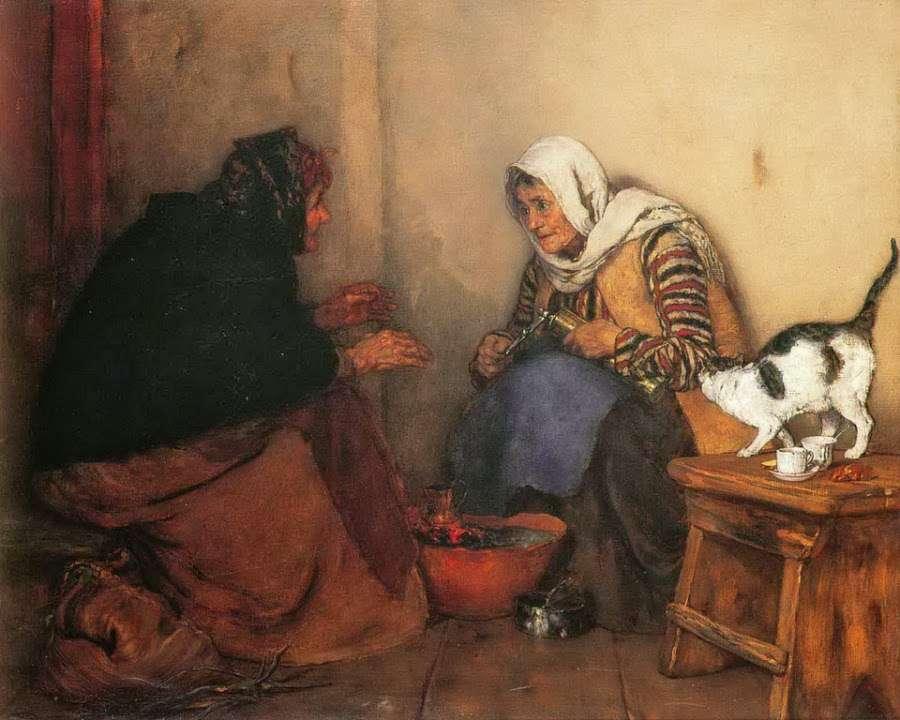 Τα ζώα στη ζωγραφική του Νικολάου Γύζη