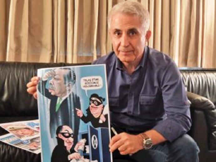 Στον φυλακισμένο Μούσα Καρτ δόθηκε το Διεθνές Βραβείο Σκίτσου την Ημέρα της Ελευθερίας του Τύπου