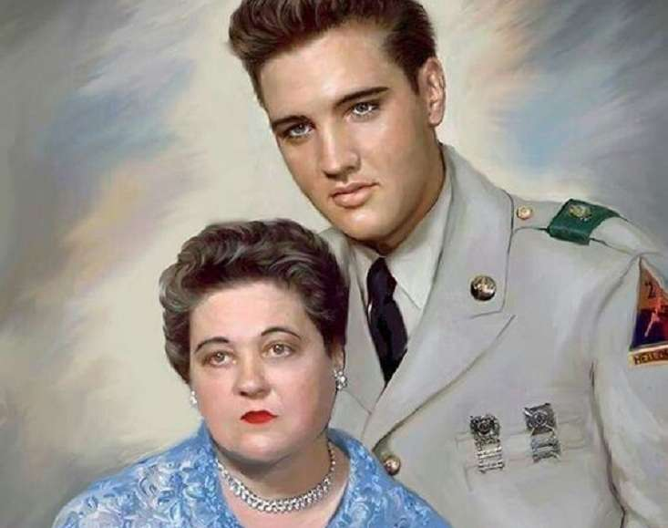 Elvis Presley. Ακούστε εδώ ποιο τραγούδι έκανε δώρο στη μητέρα του Gladys Love σαν σήμερα 19 Ιουλίου '54