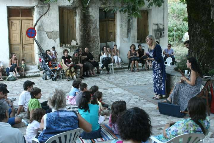 Μουσικές και αφηγήσεις με την αφηγήτρια Σάσα Βούλγαρη στον Ταΰγετο