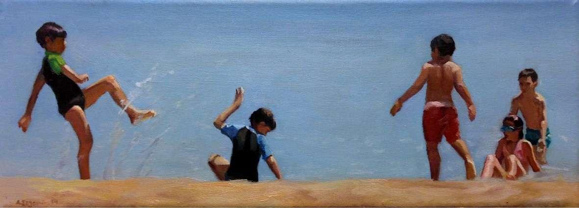 «My Heaven». Η τρίτη έκθεση του #Rest@rt στην Aqua Gallery στον παράδεισο του Πύργου της Σαντορίνης