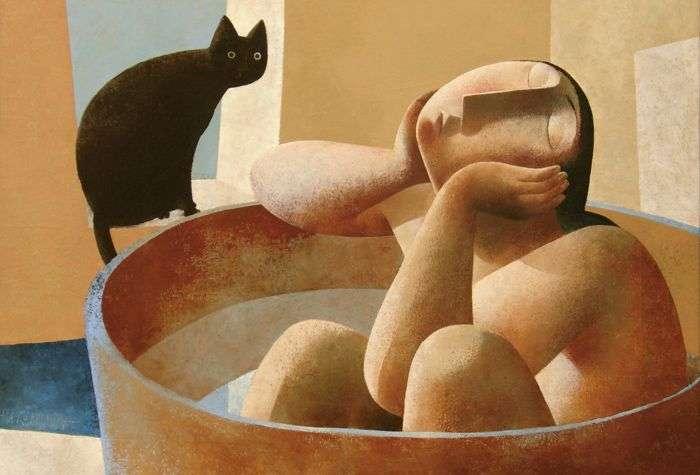 c16ea7da9f0a Ποίημα του Κώστα Ψαράκη  «Γεωμετρία για γάτες»