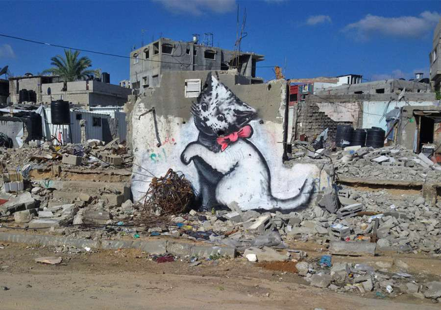 Οι γάτες του Banksy