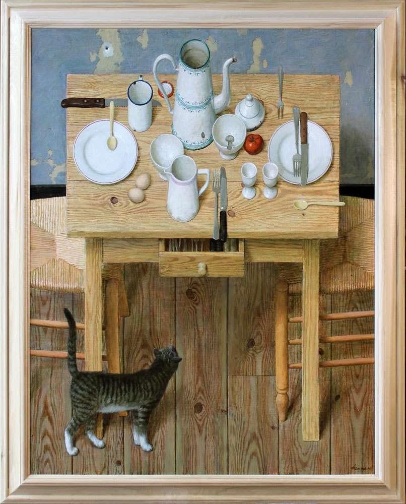 Ο Ολλανδός ζωγράφος Kenne Grégoire και οι γάτες…