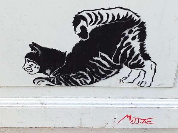 Βασίλη Βασιλικού. Η γάτα της Rue d'Hauteville…