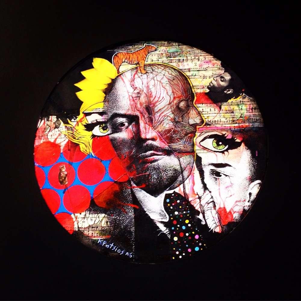 Οι καλλιτέχνες Γιώργος Καζάζης, Κωνσταντίνος Πάτσιος, Παναγιώτης Σιάγκρης, Βάνα Φερτάκη στην Αrt Market Budapest 2018