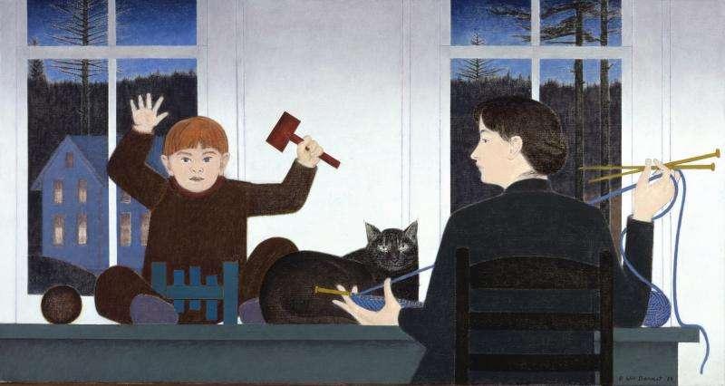Οι γάτες του Smithsonian American Art Museum