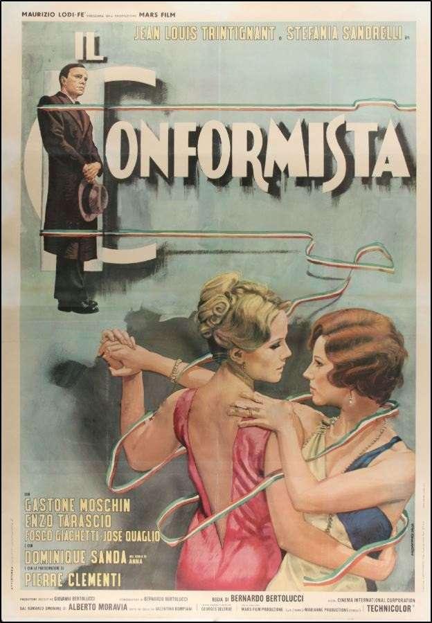Ο «Κομφορμίστας» (1969) του Μπερνάρντο Μπερτολούτσι στο «Μηχανουργείο» της Πάτρας