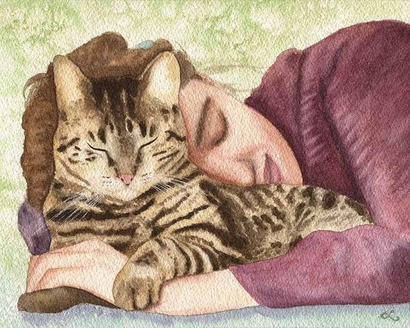 """Κι όμως η γάτα σου έχει κι άλλους τρόπους να σου πει το """"σ' αγαπώ"""""""