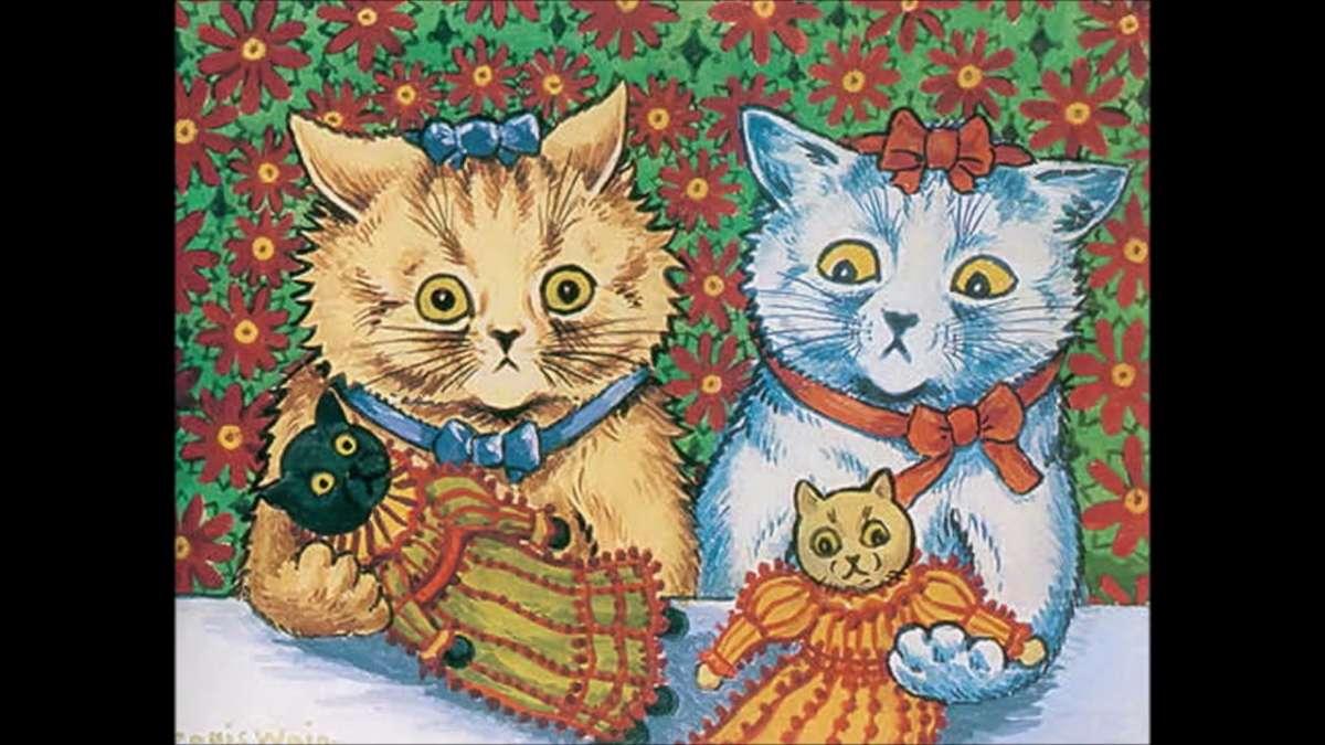 Λούις Γουέιν, ο άνθρωπος που ζωγράφιζε τις γάτες