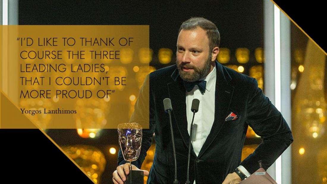Στον δρόμο για τα Όσκαρ νέα επιτυχία για τον Γιώργο Λάνθιμο που κέρδισε επτά βραβεία στα BAFTA 2019