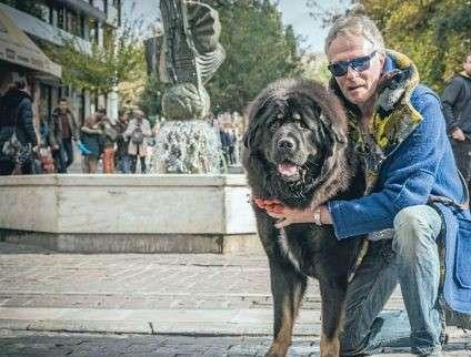 Στην αγκαλιά του σκύλου του Ακμπάρ άφησε την τελευταία του πνοή ο Αριστοτέλης Αποσκίτης