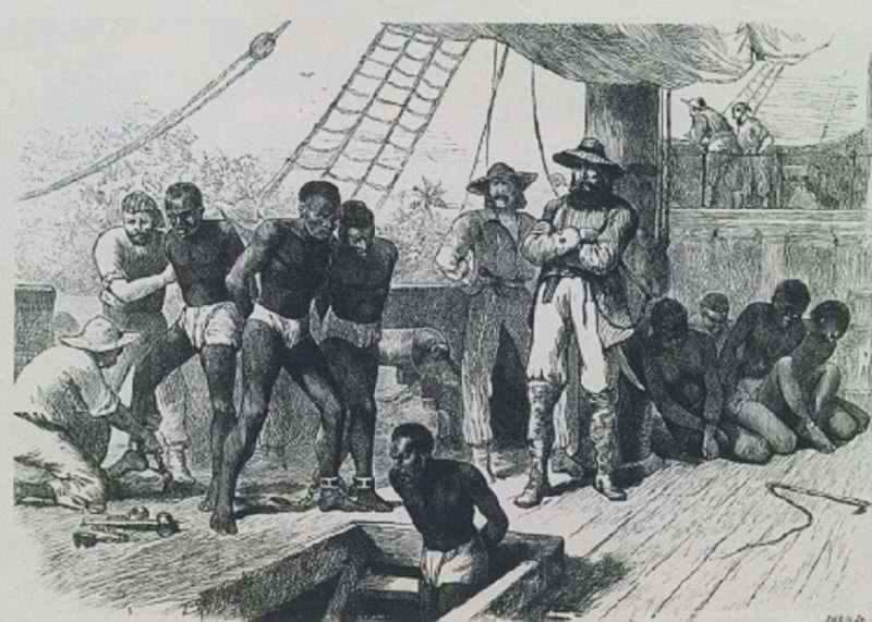 Η ιστορία των μαύρων σκλάβων της Αμερικής