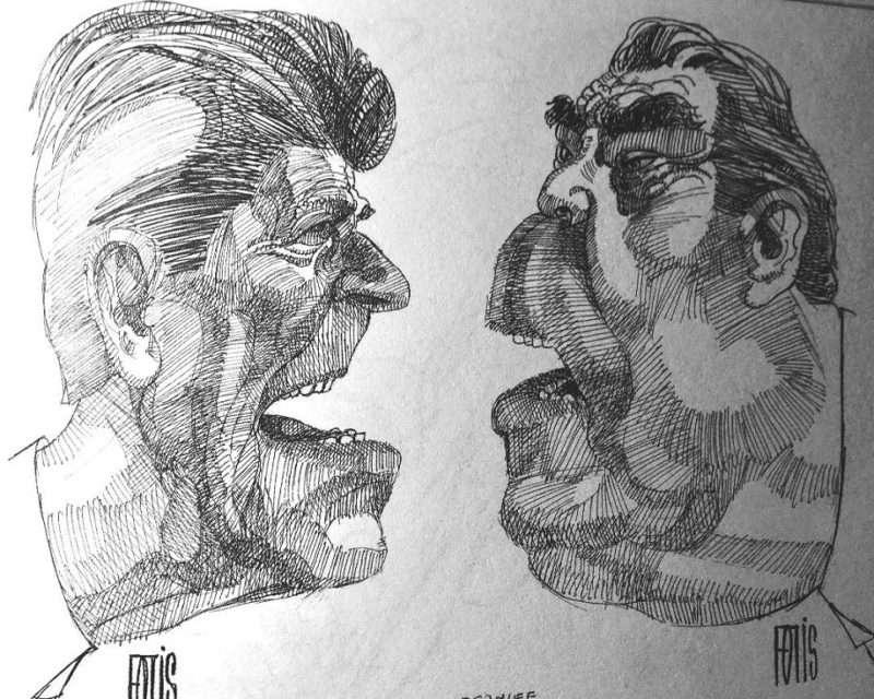 Φώτης Γεωργουλάκης (Fotis). «Έφυγε» στα 86 ο κορυφαίος πορτρετίστας. Δείτε βίντεο με έργα του