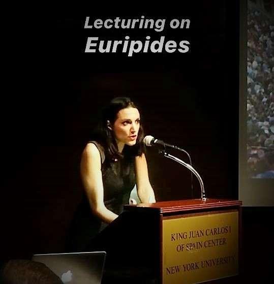 Προσκεκλημένη για Διάλεξη και Artistic Residency η Κατερίνα Ευαγγελάτου στο New York University (NYU)