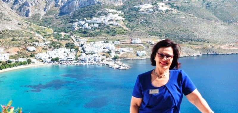 Ειρήνη Γιαννακοπούλου: Η Αμοργός έχει πολλά περιθώρια ανάπτυξης