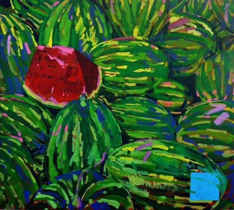 Street Market: Έκθεση ζωγραφικής του Γιώργου Πανταζή στην αίθουσα τέχνης Τεχνοχώρος