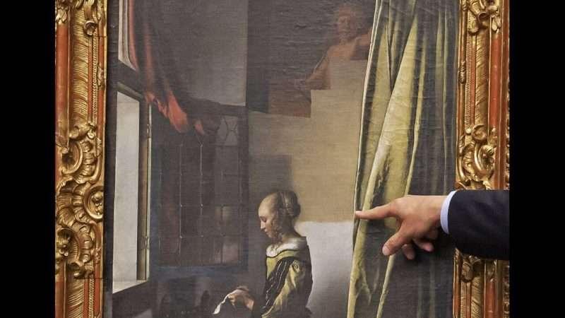 Αποκαλύφθηκε ο θεός Έρωτας σε πίνακα του Βερμέερ