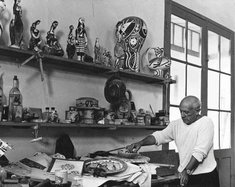 Τα έργα κεραμικής του Πάμπλο Πικάσο εκτίθενται στο Κυπριακό Μουσείο