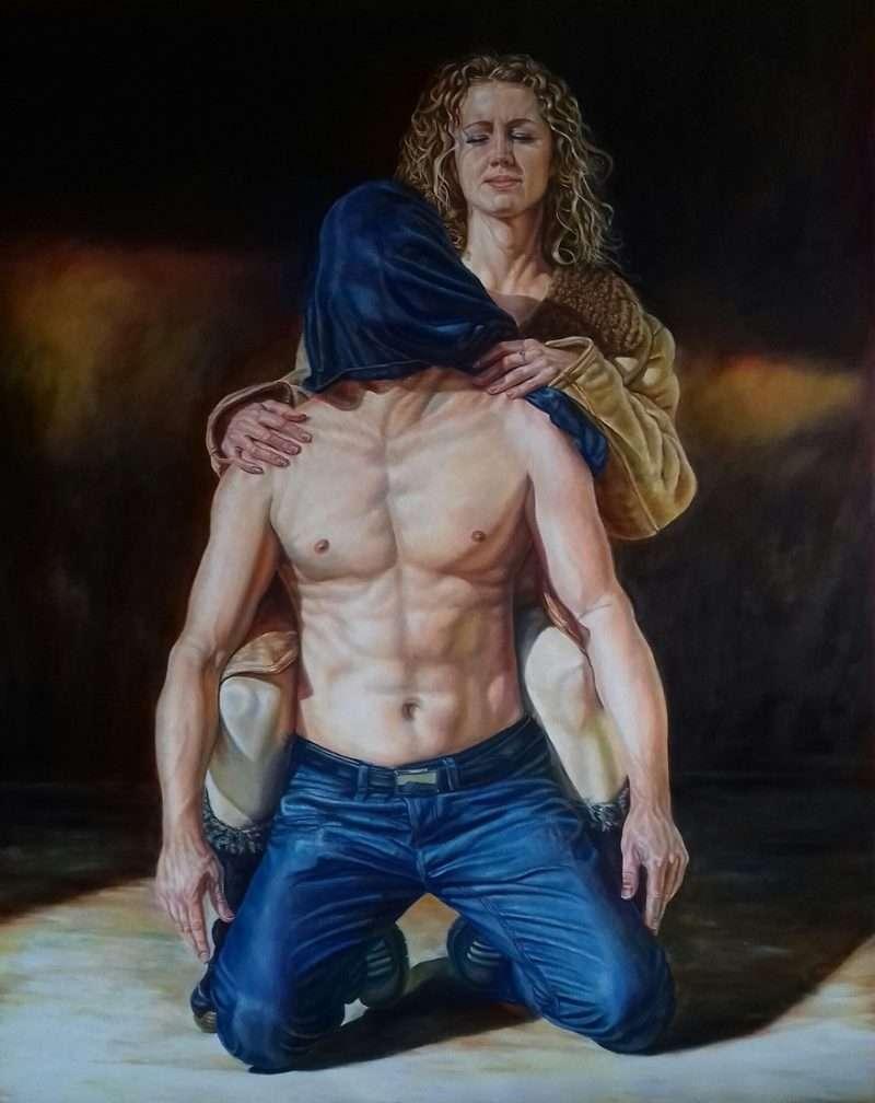 """Corporeal moments"" – Έκθεση του Ούγγρου ζωγράφου László Benkő στην Art Appel Gallery"