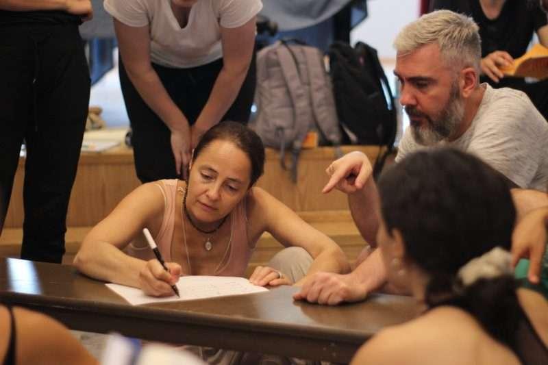 Εργαστήριο με τους Maria Shmaevich και Δαυίδ Μαλτέζε στο Λύκειο Επιδαύρου
