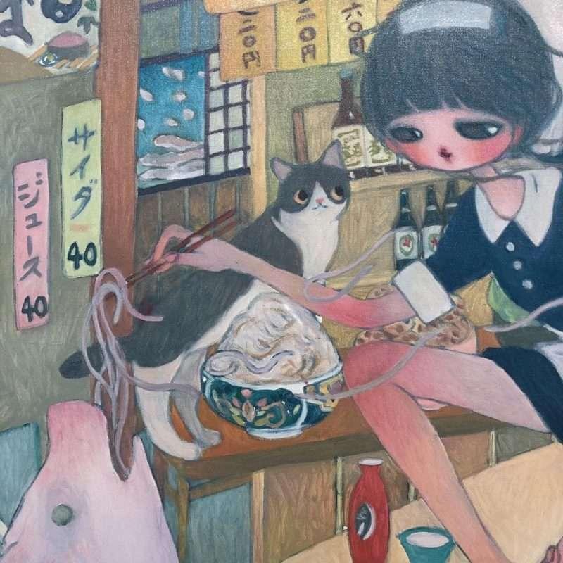 Οι γάτες της Aya Takano