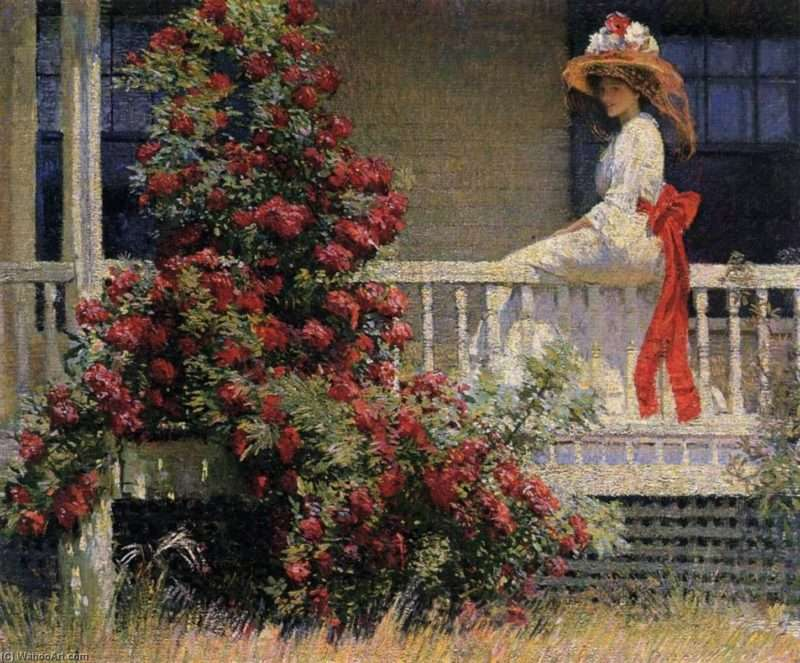 """Πλάτων Ροδοκανάκης, """"Το βυσσινί τριαντάφυλλο"""" και ο αισθητισμός"""