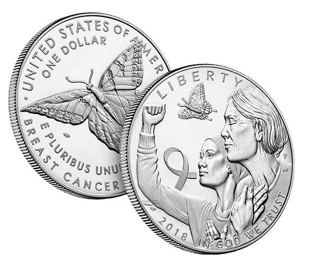 Νομίσματα στη Μάχη κατά του Καρκίνου του Μαστού