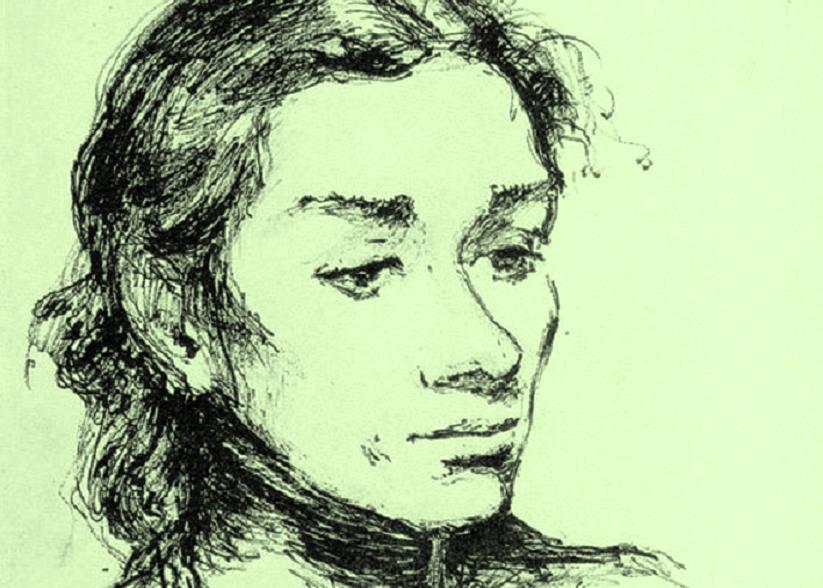 Η Τιτίκα Νικηφοράκη όπως την είδε και τη ζωγράφισε ο Νίκος Νικολάου πριν παντρευτούν