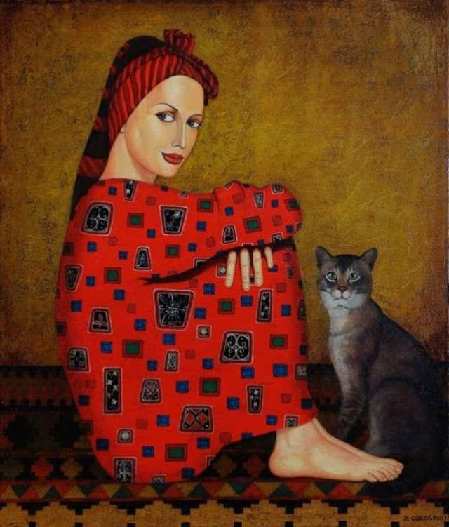 Οι γάτες του Γεωργιανού ζωγράφου Zviad Gogolauri