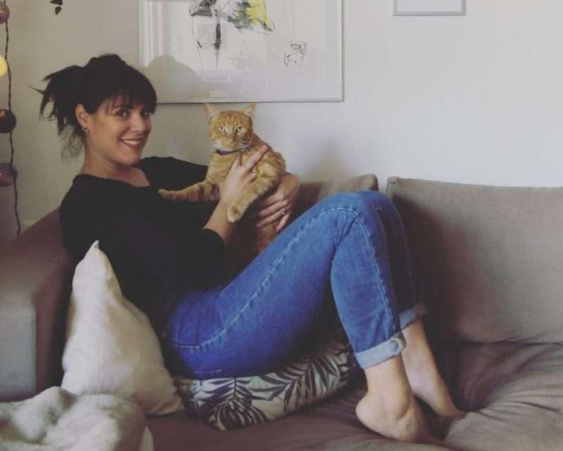 """Μαρία Τζάνη: """"Η ζωή μου με τον Μπιρμπίλη έχει ασφάλεια, χάδια και μπόλικα χνουδωτά φιλιά"""""""