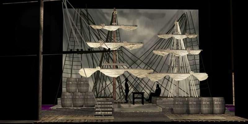 """Moby Dick"", το αριστούργημα της παγκόσμιας λογοτεχνίας του Χέρμαν Μέλβιλ στο Θέατρο Παλλάς"