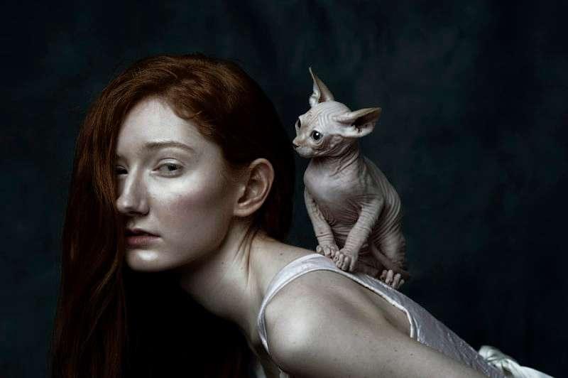 Αν οι κυρίες με τις γάτες ήταν προσωπογραφίες της Αναγέννησης