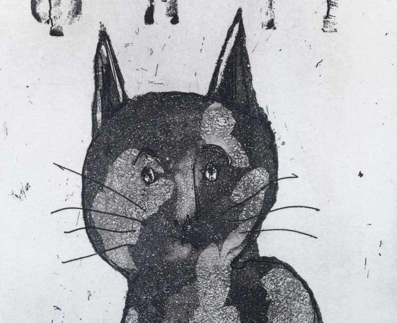 """Χριστόφορος Κατσαδιώτης – Μια γάτα του από το """"ημερολόγιο ονείρων"""""""