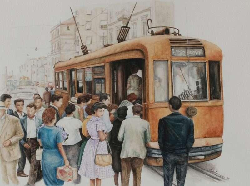 """Έκθεση ζωγραφικής της Άρτεμης Χατζηγιαννάκη στο """"πνεύμα του '60"""""""