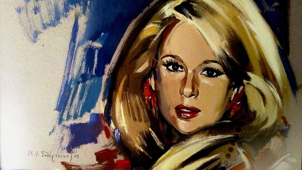 Πώς ο ζωγράφος Κώστας Σπυριούνης ανακάλυψε το κρυμμένο μυστικό που είχε η Αλίκη Βουγιουκλάκη