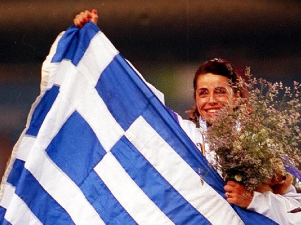 Βούλα Πατουλίδου. Βαρκελώνη. Πριν από 25 χρόνια χρυσό και εθνικός ύμνος για όλους μας βρε γαμώτο…