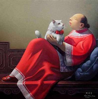 Η γάτα στην κινέζικη παράδοση
