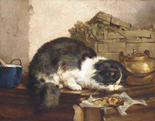 Η Γάτα Στην Κουζίνα (The Cat In The Kitchen) του Ρόμπερτ Μπλάι (Robert Bly)