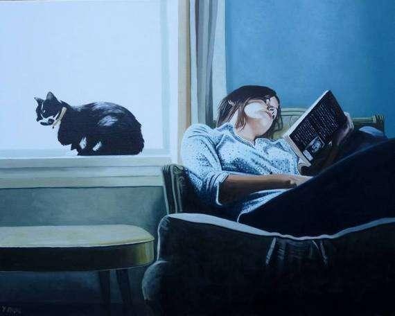 Διάσημοι και άσημοι ζωγραφίζουν γάτες… 32 έργα τέχνης με ψιψίνες