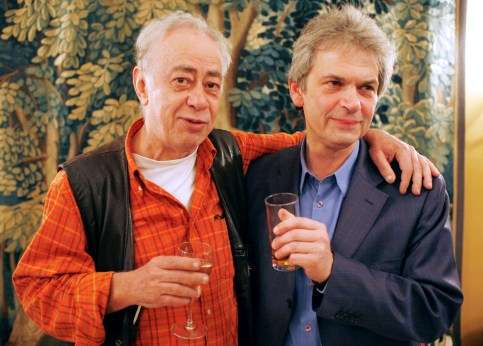 O Βασίλης Αλεξάκης με τον Jean-Marc Roberts